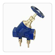 Bronze Double Regulating Balancing Valve (Screwed)